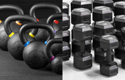 All Dumbbells and All Kettlebells