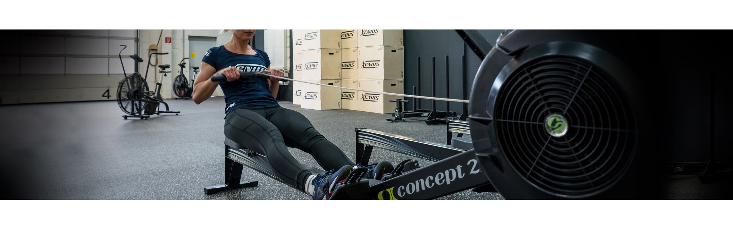 Rower Concept2 Mod D with PM5 monitor
