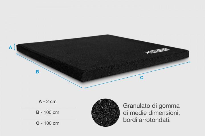 XFloor - Mattonella in gomma The Essentials