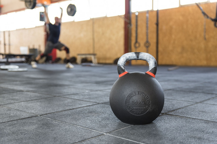 Strongman Evolution Black Cast Iron Kettlebell