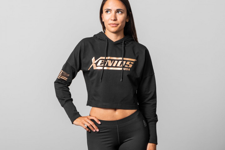 Woman Crop Hoodie - OFFICIAL