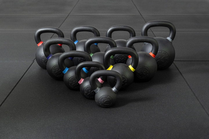 Evolution e-Coated Black Cast Iron Kettlebell