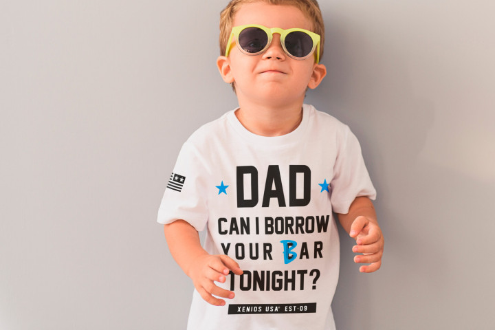 Kid Him Tees - DAD