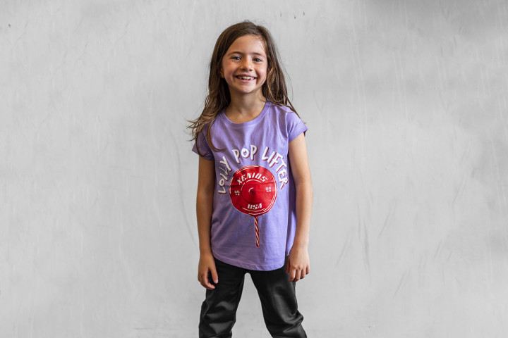 Kid Her Tees - LOLLY POP LIFTER