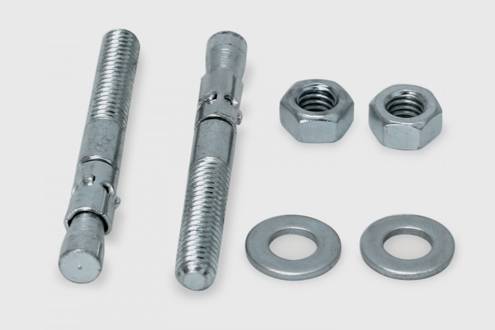 Wall Mounting set (2 bolts w/expanders)