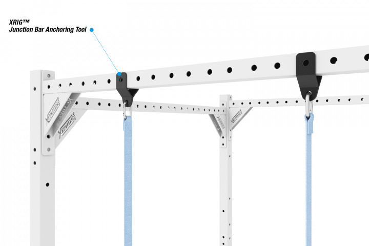 XRIG™ - Junction Bar Anchoring Tool for Rings and Rope