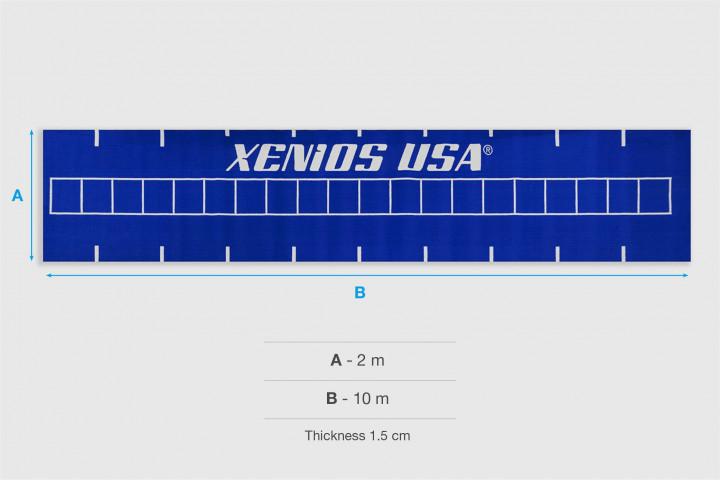 XFloor - RULER Blue Track