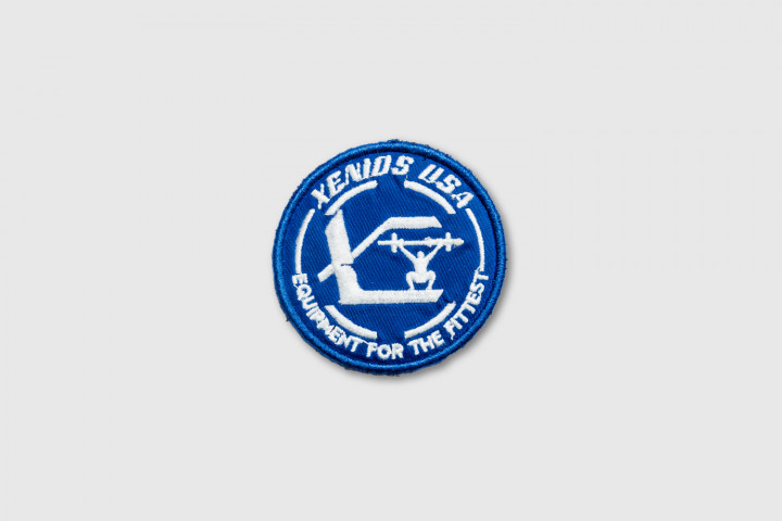 Xenios Usa Official Embroidered Patch - Blue