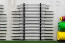Wall Mounted Bar Rack - 6 Bars