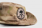Bush Hat - WOD Punisher Patch - Desert Camo