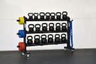 Massive Storage Rack for Kettlebells