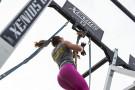 Natural Fiber Climbing Rope with Loop - 3.2 mt