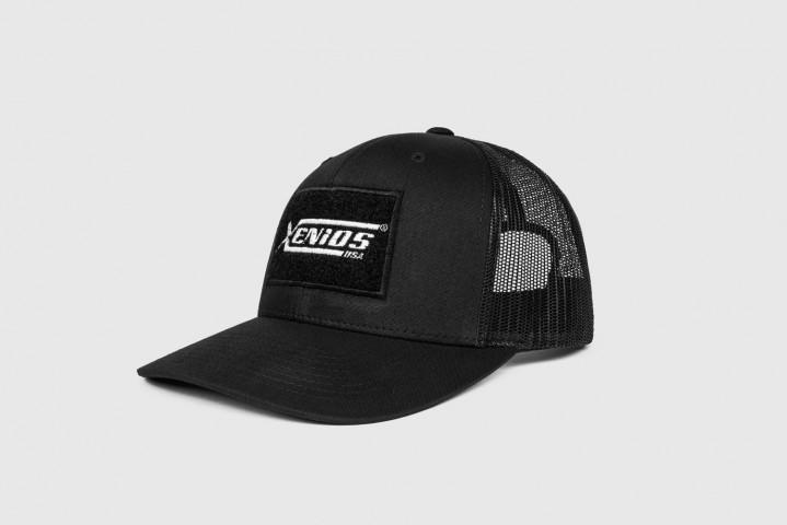 Casquette Camionneur – Xenios USA Blank Patch – Noir – Taille Unique