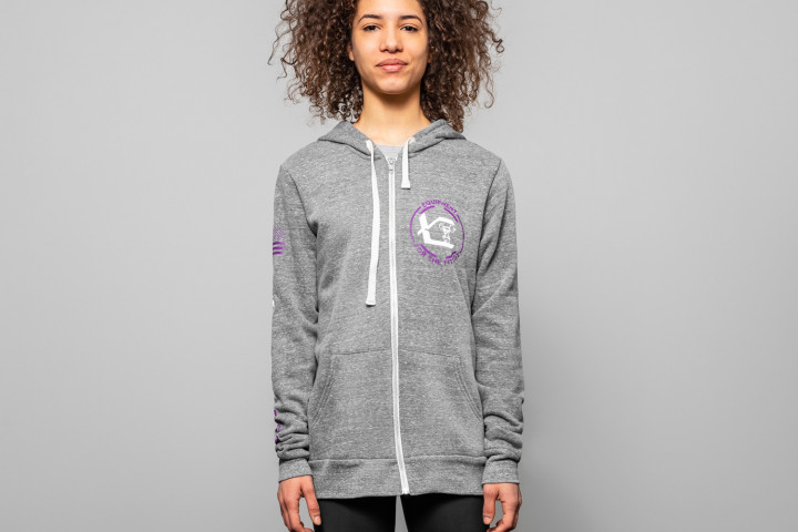 Sweat Zippé Femme – VERTICAL