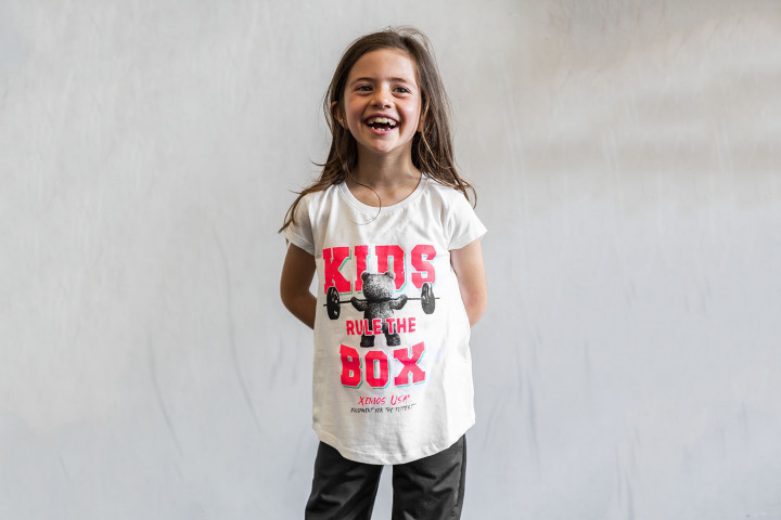Tee-Shirts Fille – BEAR_KIDS RULE THE BOX