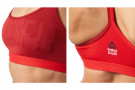 Soutien-gorge Strappy Reebok Rouge – Taille XS