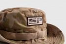 Chapeau Bush - WOD Punisher Patch - Desert Camo