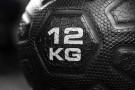 Med Ball Lourd en Caoutchouc - 28 cm