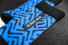 Chaussettes d'Entraînement – Labyrinthe – Bleu–Noir - Xenios USA
