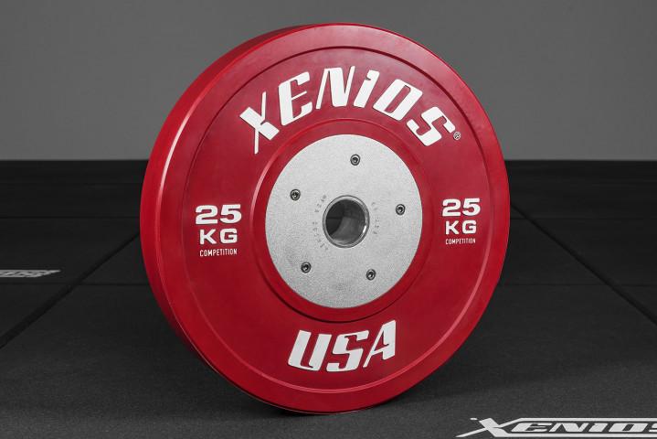 USED Wettkampf Bumper Platte - 25 kg. (1 Stück)