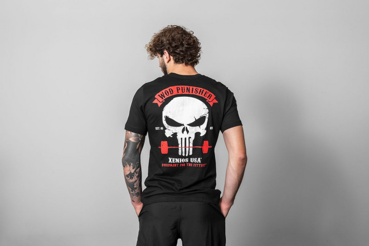 Männer T-Shirts - WOD PUNISHER