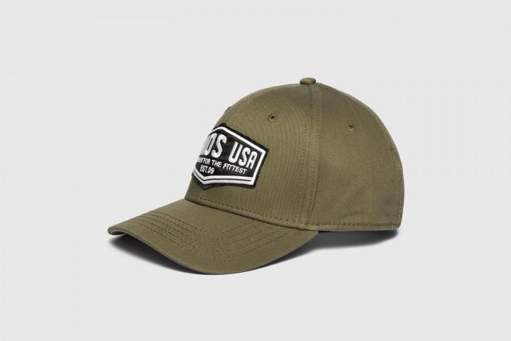 Baseball Mütze - Xenios USA Patch - Olivgrün