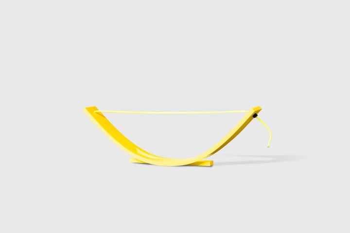 Tragbare und höhenverstellbare Hürde - 100x10 cm