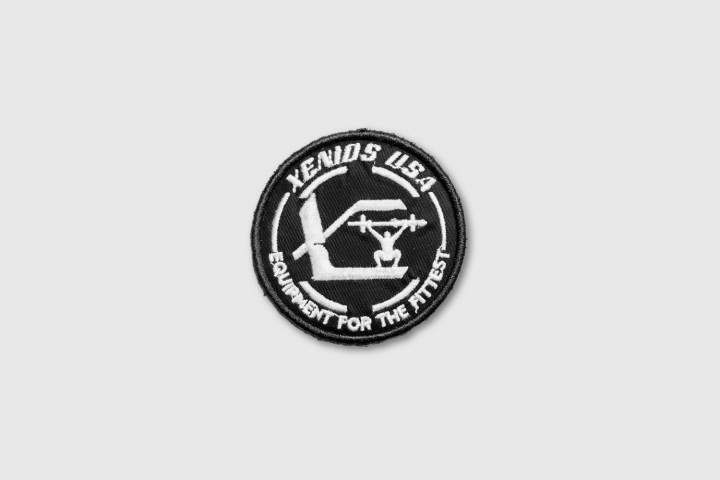 Xenios Usa Official gestickter Patch - Schwarz