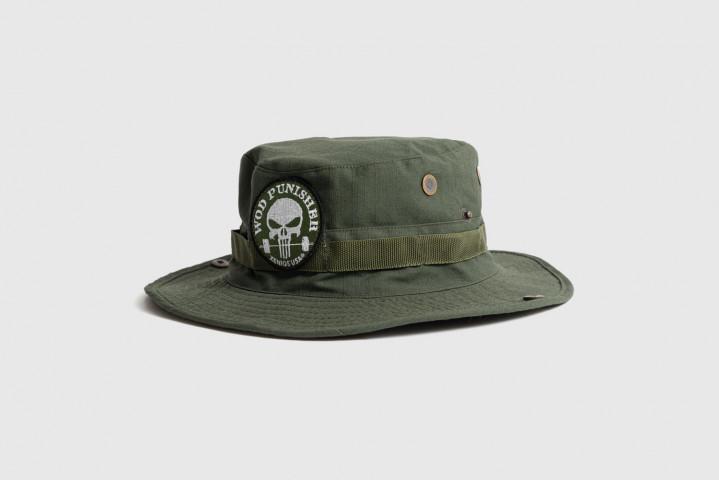 Sombrero - Parche WOD Punisher - Verde Militar