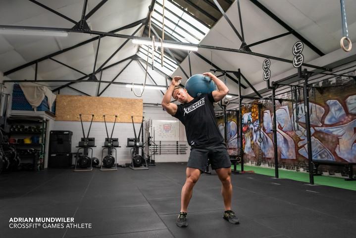 Med Ball Strongman