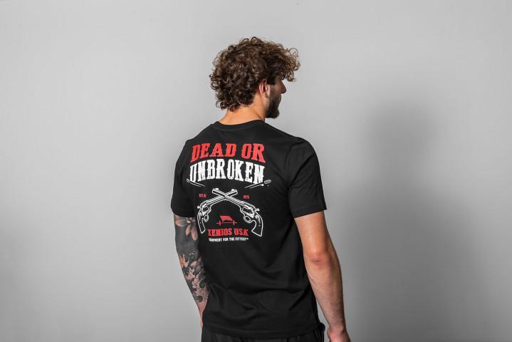 Camiseta Manga Corta Hombre - DEAD OR UNBROKEN