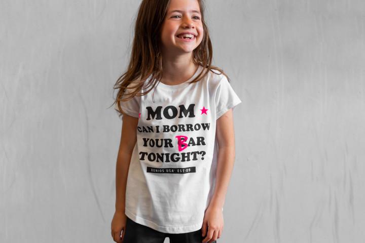 Camiseta Manga Corta Niña - MOM