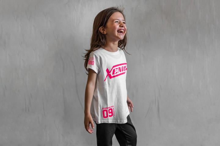 Camiseta Manga Corta Niña - OFFICIAL