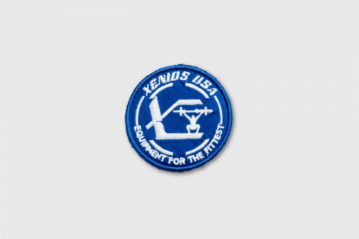 Parche Bordado - Xenios USA Official - Azul