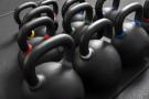 Kettlebell Negra Hierro Fundido con Acabado Evolution