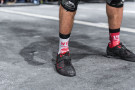Calcetines Workout - Wod Punisher - Rojo/Blanco - Xenios USA