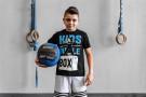 Camiseta Manga Corta Niño - KIDS RULE THE BOX