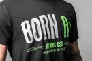 Camiseta Manga Corta Hombre - BORN RX