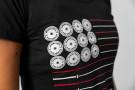 Camiseta Manga Corta Mujer - BANDERA XENIOS USA