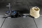 Cuerda para Trineo de Fibra 15 m x 30 mm (con gancho de acero)