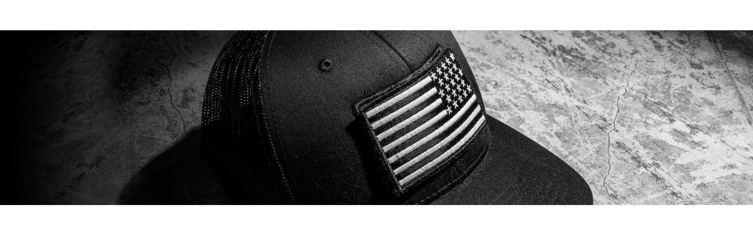 Trucker Hat - Xenios USA Blank Patch - Black - One size