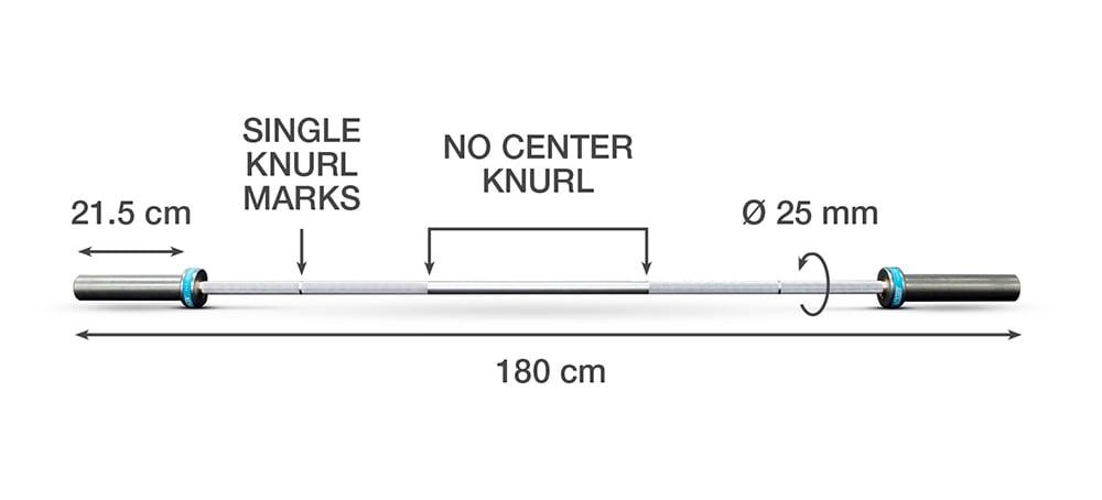 Alu Junior Technique Bar