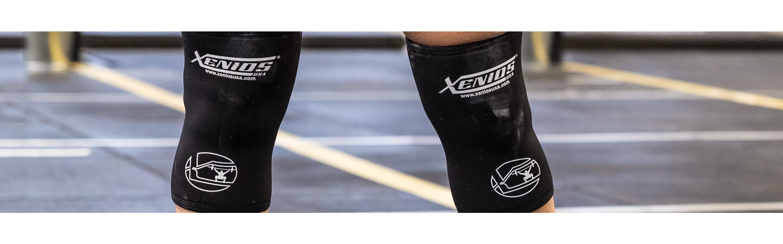 High Compression Knee Guard - 7 mm.