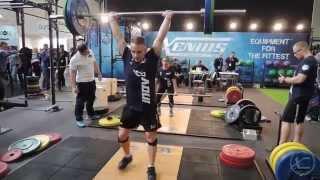 Xenios USA - weight lifting FIBO 2014